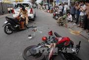 Cảnh giác chiêu dàn cảnh tai nạn để cướp của