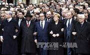 40 lãnh đạo thế giới dẫn đầu tuần hành tại Paris