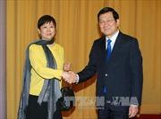 Chủ tịch nước tiếp đoàn đại biểu hữu nghị Trung Quốc