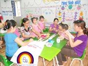 Lúng túng thực hiện Bộ chuẩn phát triển trẻ mầm non 5 tuổi