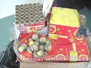 Lào Cai bắt giữ gần 20 kg pháo lậu