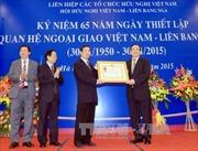 Kỷ niệm 65 năm thiết lập quan hệ ngoại giao Việt Nam-LB Nga