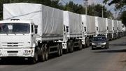Đoàn xe viện trợ thứ 12 của Nga đến Đông Ukraine