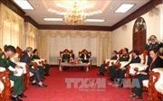 Lãnh đạo Lào tiếp đoàn đại biểu cựu chuyên gia và quân tình nguyện Việt Nam
