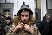 Ukraine tổng động viên phụ nữ trên 20 tuổi gia nhập quân đội