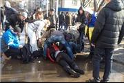 Nổ lớn tại biểu tình ở Kharkov