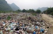 Rác thải gây ô nhiễm nghiêm trọng ở Điện Biên
