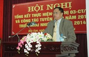 Ông Nguyễn Văn Du giữ chức Bí thư Tỉnh ủy Bắc Kạn