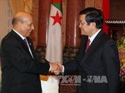 Chủ tịch nước Trương Tấn Sang tiếp Chủ tịch Quốc hội Algeria