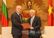 Đồng chí Uông Chu Lưu tiếp Phó Chủ tịch Quốc hội Bulgaria
