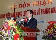 Trao tặng danh hiệu Anh hùng LLVTND cho Học viện Nông nghiệp
