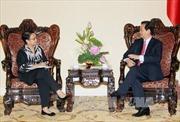 Thủ tướng Nguyễn Tấn Dũng tiếp Ngoại trưởng Indonesia