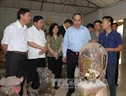 Chủ tịch MTTQ Nguyễn Thiện Nhân khảo sát làng nghề tại Bắc Ninh
