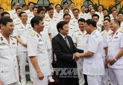 Chủ tịch nước gặp mặt đoàn đại biểu Hải quân Việt Nam