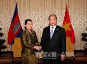 Phó Thủ tướng Nguyễn Xuân Phúc tiếp Phó Thủ tướng Campuchia