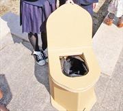 Phát minh 'toilet khẩn cấp'  của học sinh Nhật Bản