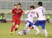 Ra quân, Việt Nam thắng Myanmar 3-2