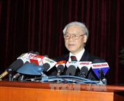 Phát biểu của Tổng Bí thư tại phiên bế mạc Hội nghị trung ương 11