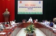 Bắc Ninh: Hội thảo nâng cao hiệu quả chỉ số quản trị và hành chính công cấp tỉnh.