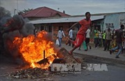 Bạo lực tiếp diễn tại Burundi gây nhiều thương vong