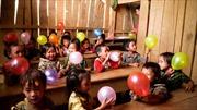 Niềm vui của trẻ em vùng cao