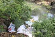 Bắt quả tang doanh nghiệp xả thải gây ô nhiễm môi trường
