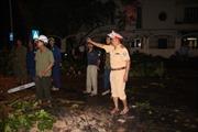 Phòng CSGT Hà Nội chủ động ứng phó với dông lốc