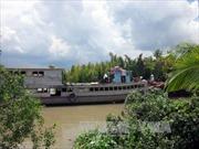 Vớt được thi thể nạn nhân vụ chìm tàu tại Bến Tre
