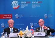 Khai mạc Diễn đàn kinh tế quốc tế St.Petersburg