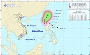 Tin bão Linfa trên Biển Đông