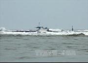 Tàu chở 3.000 tấn gạo mắc cạn trên biển Bình Thuận