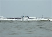 Đảm bảo an toàn cho tàu mắc cạn tại vùng biển Bình Thuận