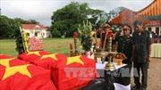 Campuchia bàn giao 18 hài cốt liệt sĩ quân tình nguyện Việt Nam