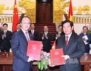 Việt Nam, Trung Quốc thúc đẩy quan hệ hợp tác hữu nghị