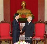 Tổng Bí thư tiếp Đoàn cấp cao Đảng Cộng Sản Trung Quốc