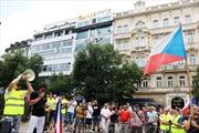 Mít tinh ủng hộ nhập cư ở CH Séc