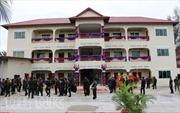 Quân đội Campuchia khánh thành công trình do Việt Nam viện trợ