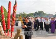 Lãnh đạo TP Hồ Chí Minh dâng hương tưởng niệm Anh hùng liệt sỹ