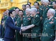 Chủ tịch nước Trương Tấn Sang gặp mặt cựu chiến binh Sư đoàn 313 và 314