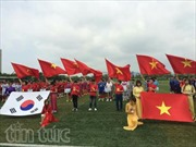 Giải bóng đá Việt tại Hàn Quốc thành công tốt đẹp