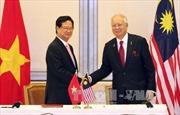 Tuyên bố chung về khuôn khổ quan hệ đối tác chiến lược Việt Nam-Malaysia