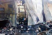 Cháy lớn trường tiểu học, 5 phòng bị thiêu rụi