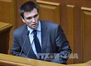 Báo Ukraine đưa tin Tổng thống muốn thay Ngoại trưởng