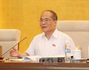 Thông cáo phiên họp thứ 40 của UBTV Quốc hội khóa XIII