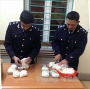 Bắt giữ hai đối tượng vận chuyển 3,8 kg ma túy đá