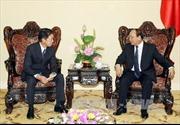 Phó Thủ tướng Nguyễn Xuân Phúc tiếp Thứ trưởng Nghị viện Nhật Bản