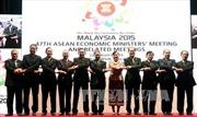 Việt Nam tham gia tích cực Hội nghị Bộ trưởng Kinh tế ASEAN 47