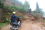 Mưa lớn gây sạt lở nghiêm trọng tại Hà Giang