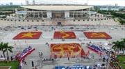 12.000 đoàn viên, thanh niên Thủ đô xếp hình cờ Tổ quốc