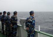 Cảnh sát biển huấn luyện cùng lực lượng Bảo vệ bờ biển Ấn Độ
